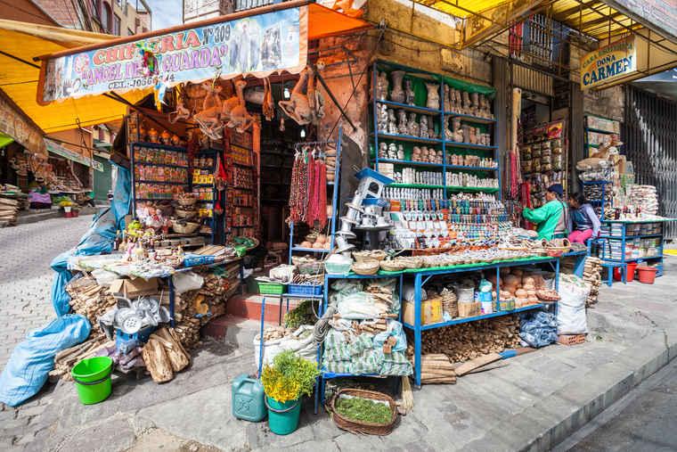 Witches Markets Bolivia, Bolivia tours