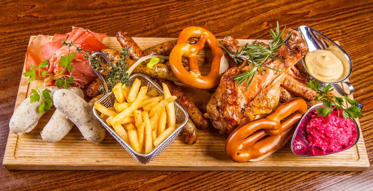 German meats, German food