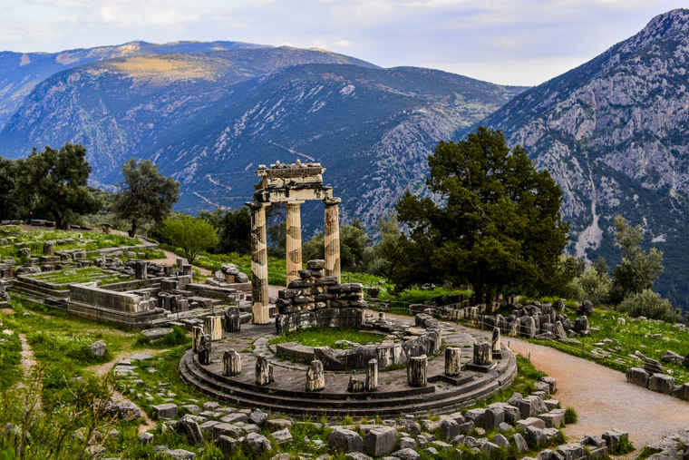 Delphi Greece Tourism