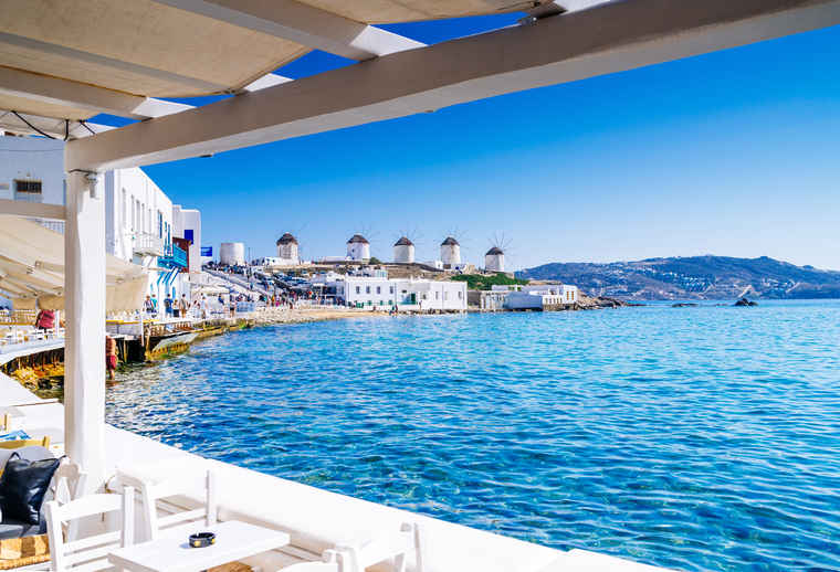 Mykonos Greece, Tour comparison Greece