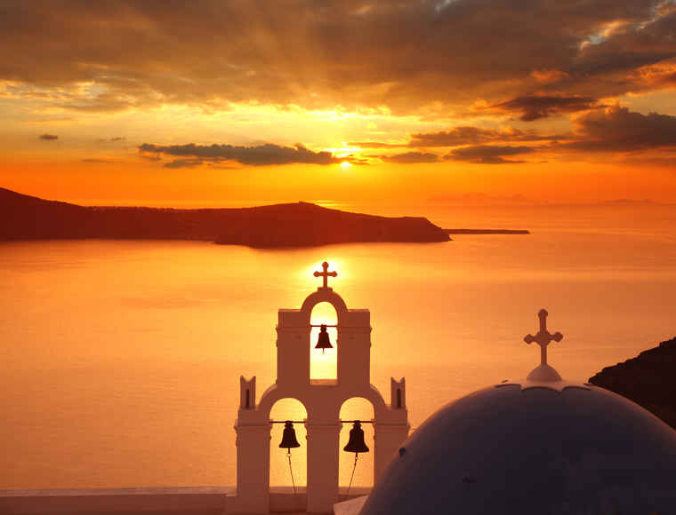 Santorini Sunset, Greece tour packages