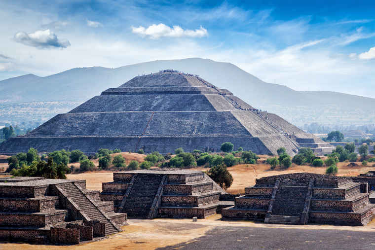 Pyramids of Teotihuacan, Mexico Tourism