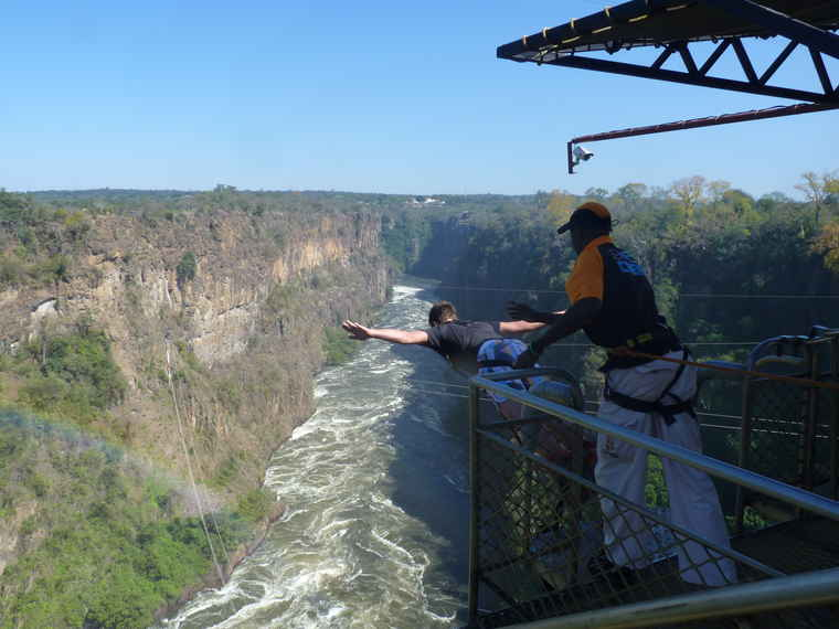 Zambia Bungee Jumping, Travel to Zambia