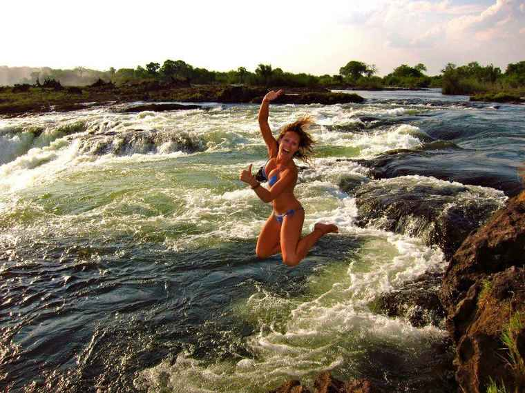 Zambia Devils Pool, Zambia Tours, Travel to Zambia