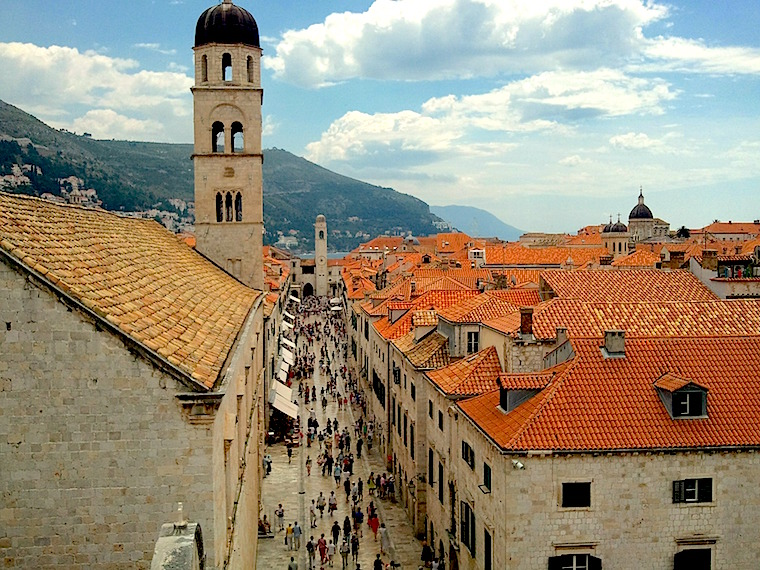 Luza Square, Dubrovnik, Croatia, Europe summer, tours, Tour Amigo