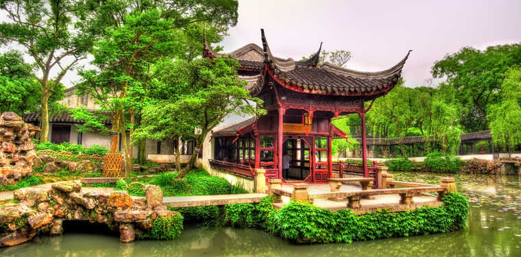 Suzhou Gardens, Suzhou China, Chinese Gardens