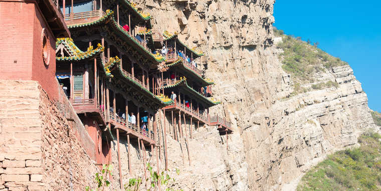 Hanging Temple of Hengshan, Chinese Temples, Visit China